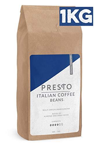Presto KaffeeBohnen – Espresso Bohnen (1 x 1kg)