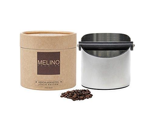 MELINO Premium Abschlagbehälter aus Edelstahl