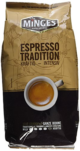 Minges Espresso Tradition 1932, ganze Bohne