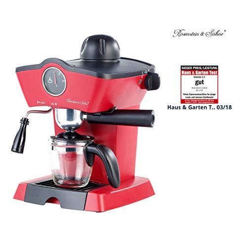 Rosenstein & Söhne Espressomaschine Retro