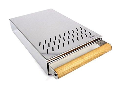 Sudschublade mit Holzgriff – 200 x 300 x 55 mm