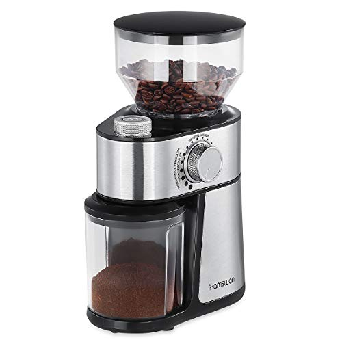 HAMSWAN HY-1416SS Flat Grat-Kaffeemühle