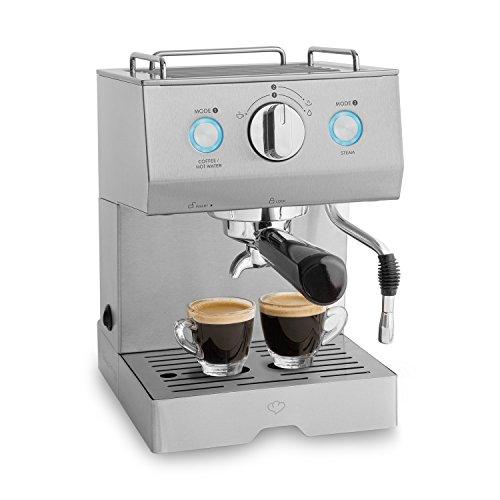 Emilia Edelstahl Espressomaschine