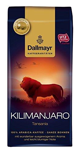 Dallmayr Kaffee Kilimanjaro Kaffeebohnen (4x 250 g)