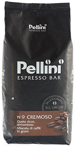 Pellini Caffè Cremoso No. 9, Bohne, 1er Pack (1 x 1 kg)