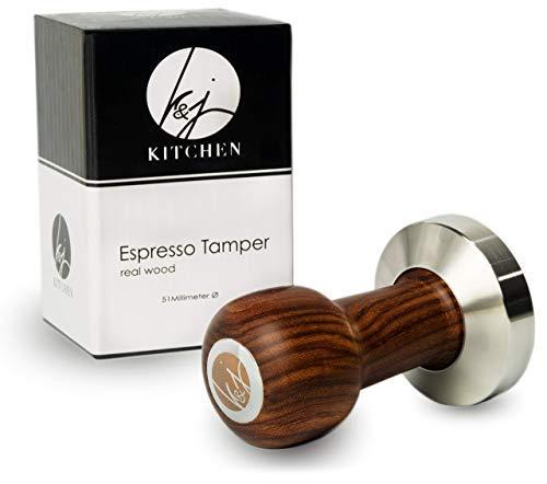 K&J Premium Espresso Tamper (51mm)