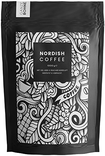 Nordish.Coffee Lively – 1 kg Kaffeebohnen