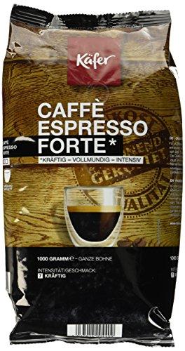 Käfer Espresso Forte, ganze Bohne, 1.000 g