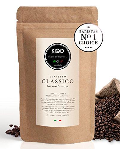 KIQO Classico Espresso aus Italien (500g – ganze Bohnen)