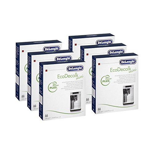 DELONGHI 6x EcoDecalk Entkalker Mini (à 2x 100 ml)